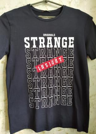 Мужская футболка STRANGE