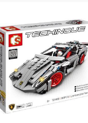 "Конструктор Sembo 701400 ""Lamborghini Venano"" 369 деталей"