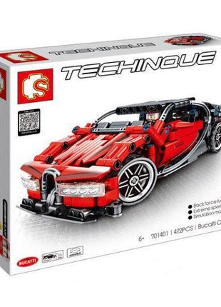 "Конструктор Sembo 701401 ""Bugatti Chiron"" 422 детали"