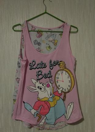 Пижама с ярким принтом Алиса в Стране чудес Disney George