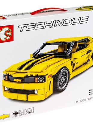 "Конструктор Sembo 701504 ""Спорткар Chevrolet Camaro"" 558 деталей"