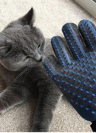 Перчатка для домашних животных True Touch. Устали от шерсти?