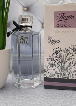 💜оригинал 💜100 мл gucci flora by gucci generous violet нежная ...