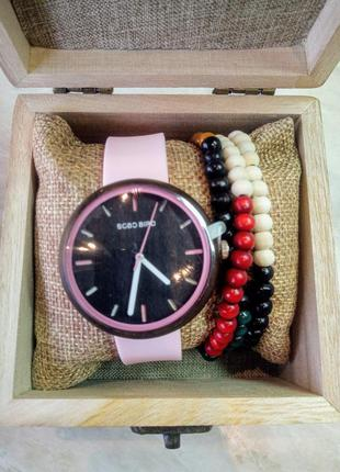 Новые кварцевые часы bobo bird