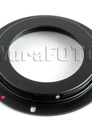 Адаптер переходник М42-CANON EOS буртик (m42-Canon)