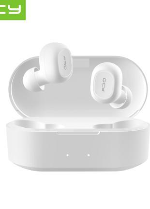 Беспроводные Наушники Bluetooth QCY QS2 White Навушники