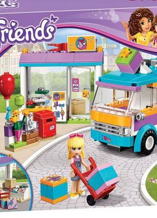 Конструктор аналог Lego Friends Служба доставки .  Bela