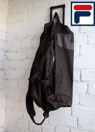 Сумка Fila - сумка спортивна, як нова, на колесах з ручкою