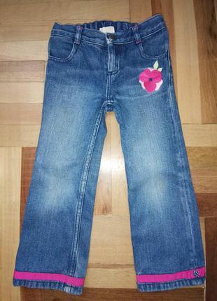 Детские джинсы, штаны, брючки на девочку на рост 92-110 бренда...