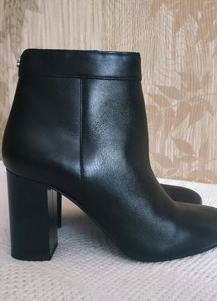 Guess ботинки, сапоги, кожаные ботинки, осень/весна, натуральн...