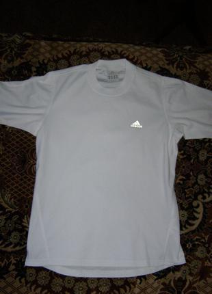 Футболка Adidas с рефлективным лого и вставками