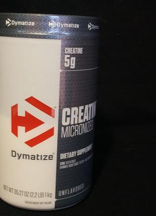 Креатин моногидрат Dymatize Nutrition 1кг