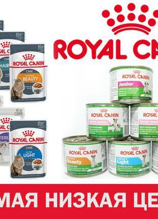 ROYAL CANIN (Роял Канин) Консервы и паучи - влажный корм