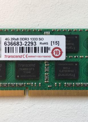 Transcend SO-DIMM DDR3 4GB 1333 MHz