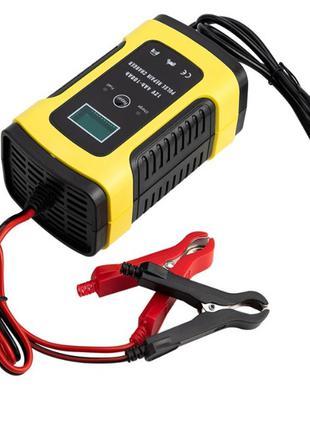 Зарядное устройство автомобильного аккумулятора с функ. восстанов