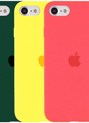 Чехол Silicone Case Full Protective для Apple iPhone SE (2020)
