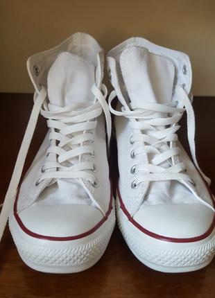 Converse белые кеды