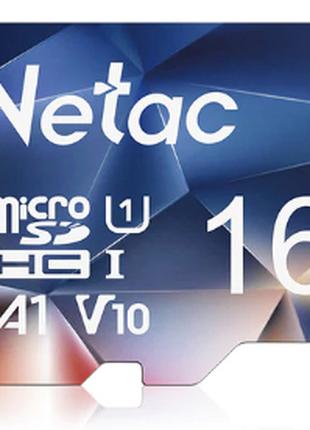 Netac P500 micro SD карта памяти 16GB Class 10 UHS-1 90 МБ/с orig