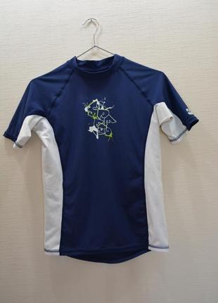 Нейлоновая спортивная футболка,майка для фитнеса,серфинга, вел...
