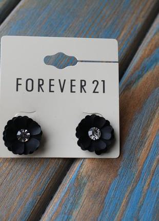 Сережки forever 21
