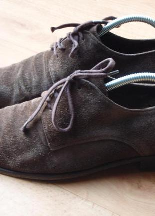 Знижки !туфлі замшеві 42 розмір. 1022 лот.