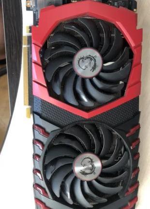 MSI GeForce GTX 1070 Gaming X 8G НА ГАРАНТИИ до 2-го месяца 2021