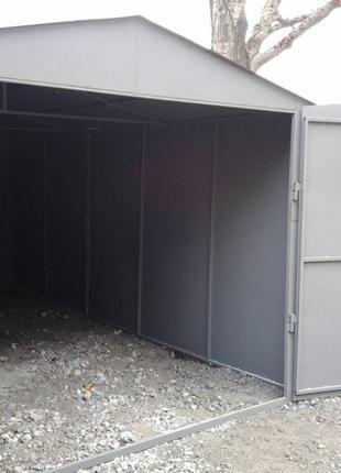 Изготовление гаражей на заказ в Николаеве и Николаевской области.