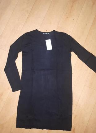 Вязаное прямое платье mango s