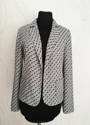Стильный пиджак жакет блейзер,принт панды