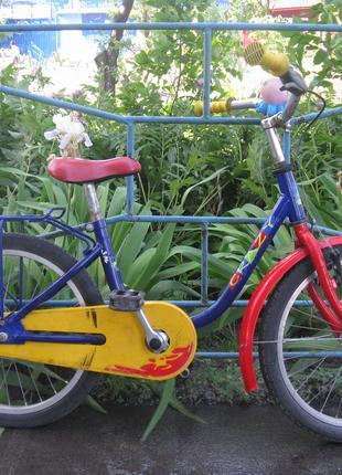 Велосипед детский двухколесный 14