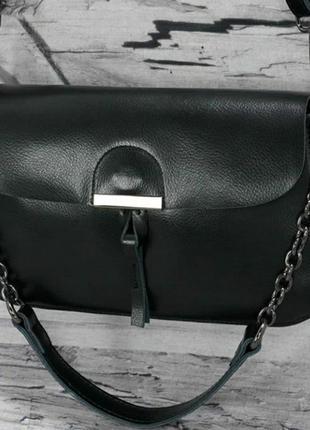 Кожаная женская сумка клатч кожаный шкіряний жіночий шкіряна ж...