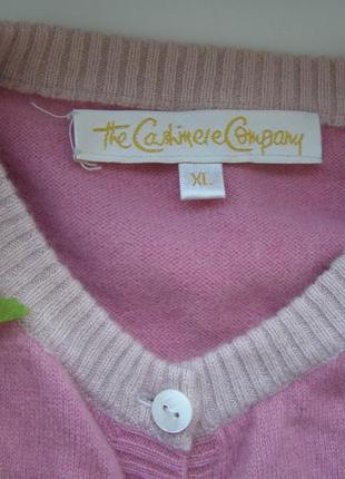 The cashmere company кардиган 100% кашемир xl-размер