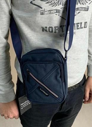 Мужская сумка на плечо чоловіча  барсетка