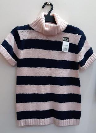 Вязаный свитер для девочки подростка 158-164см франция