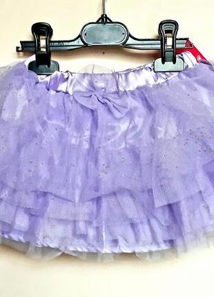 Детская фирменная фатиновая юбка пачка ту-ту