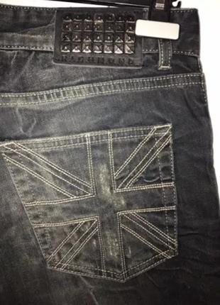 Сине чёрные  новые джинсы john richmond (28) оригинал италия