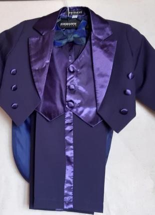 Нарядный костюм тройка фрак турция weikexi  на 3 года