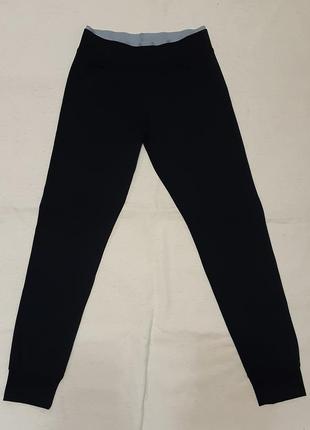 """Спортивные штаны на манжетах черные с серым """"yigga"""" германия н..."""