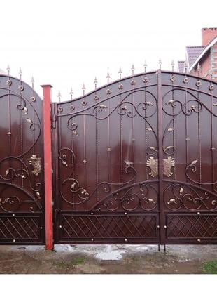 Изготовление ворот под заказ в Николаеве и Николаевской области.
