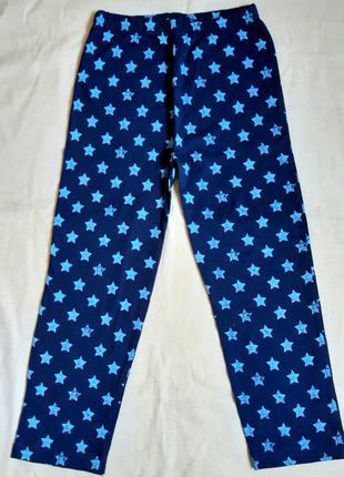 """Синие со звездами домашние трикотажные штаны """"primark"""" англия ..."""