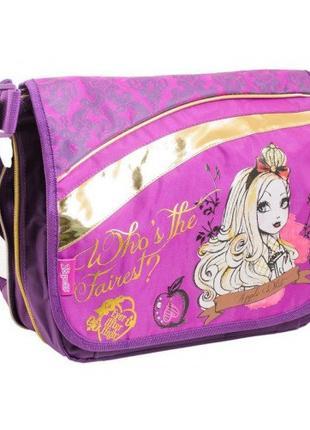 Детская сумка для девочек Эвер афтер хай Ever After High золотая