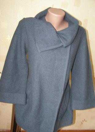 Paul costelloe деми пальто 100% шерсть pure wool s-m-размер