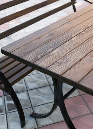 Скамейка лавочка садовая, стол, комплект