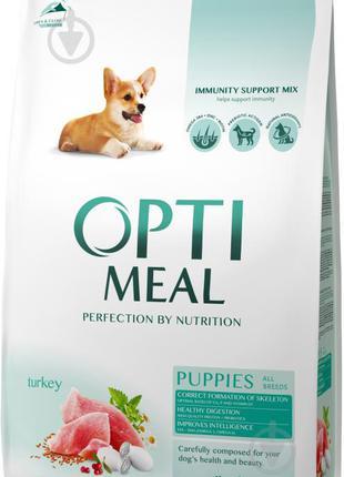 Корм для щенков с индейкой Optimeal 12 kg