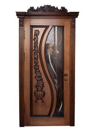 Деревянные двери (дуб)