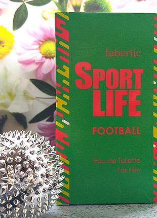 Sportlife Football. Фаберлик. Вода для мужчин