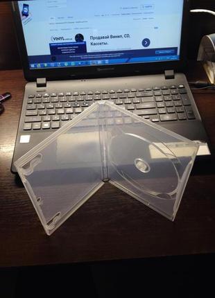 Кейс бокс коробка коробочка для cd dvd blu-ray