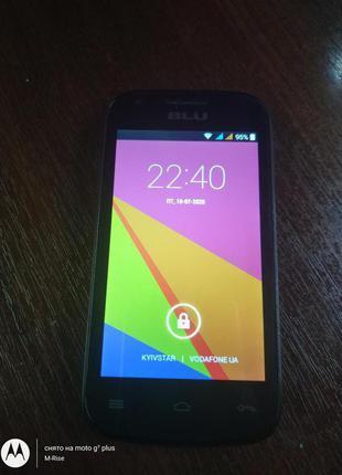 BLU Dash JR 4.0 k d143k из США.GSM связь ! Android 4.4.2 На 2 сим