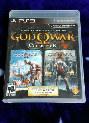 God of War Collection (английский язык) для PS3