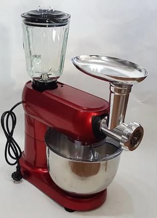 Кухонный комбайн 3в1 Crownberg CB-3404 2200W